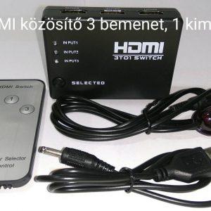 MP1, 3 bemenetes, elektronikus, HDMI közösítő (Switch)