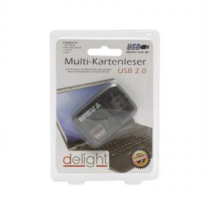 delight USB2.0 multi kártya író, olvasó