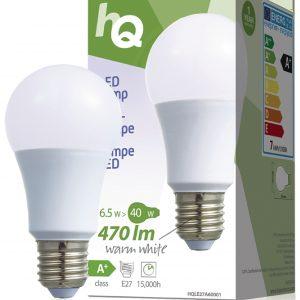 HQ 6.5W~40W, E27 normál gömb LED égő