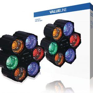 6 tagú fényorgona VALUELINE VLLINKLED20