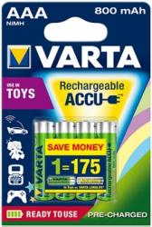 VARTA 800 mAh, Ready to use, 750ft/db