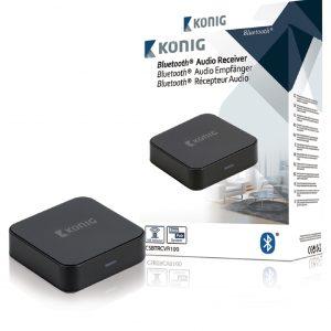 KÁ–NIG Audio-átjátszó eszköz Bluetooth vezeték nélküli technológiával