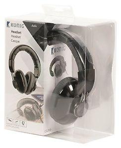 KÖNIG AUDIO zárt sztereó fejhallgató-mikrofonnal