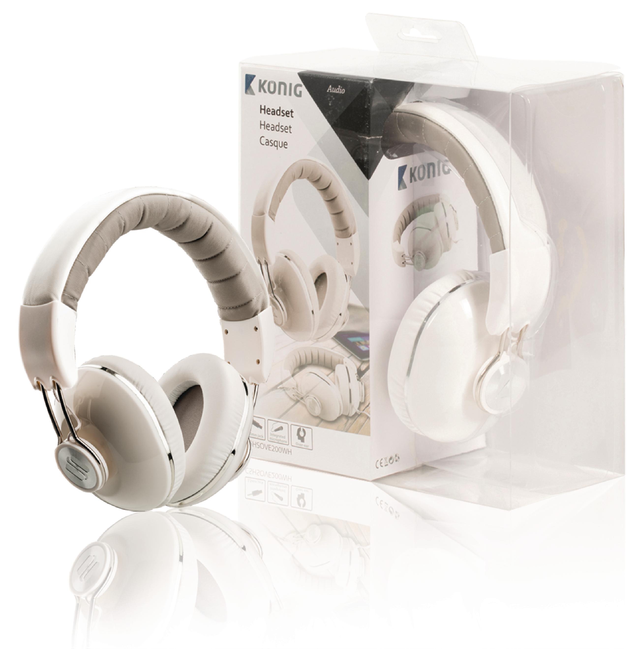 KÖNIG AUDIO zárt sztereó fejhallgató-mikrofonnal - Műszaki Pince 5546272115