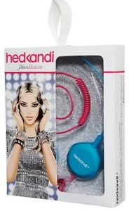 hedkandi DiscoHeaven small lightweight stereo headphones