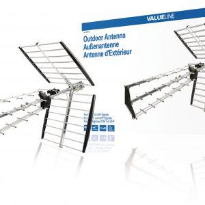 Valueline DVB-T/T2/UHF kültéri antenna