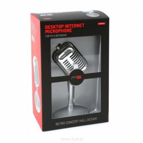 Desktop Internet Microphone retro concert hall design