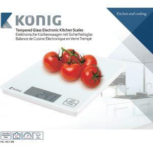 König HC-KS13N konyhamérleg
