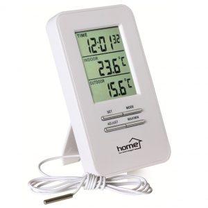 home HC13 hő- és páratartalom-mérő ébresztőórával