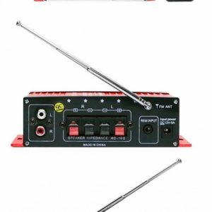 MA-120 2 csatornás mini erősítő USB/SD/MMC/FM/AUX 2x20W