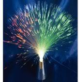 RGB ledes optikai szálas lámpa