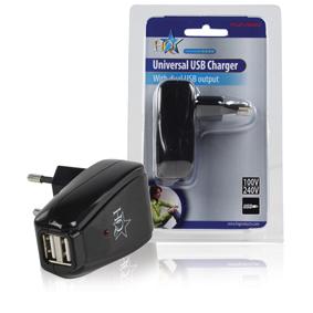 HQ    2x5V/2x500mA USB-s tápegység, töltő