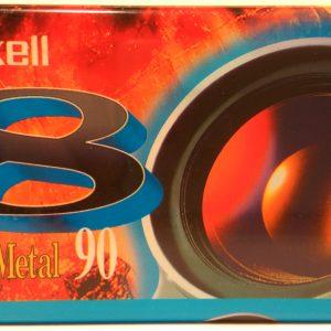 Maxell GX Metal 90 Video8 kazetta