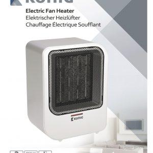 HQ, KN-FH10 ventilátoros kerámia hősugárzó 1000W/2000W