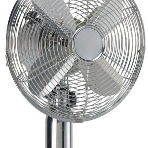 HQ, 30 cm-es lapátátmérőjű asztali HOLLAND ventilátor, króm