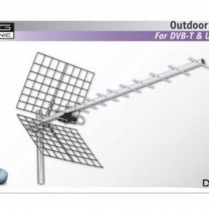 KÖNIG ANT-UHF41L-KN kültéri antenna