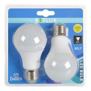 Retlux REL7, 7~40W, E27 normál gömb LED égő