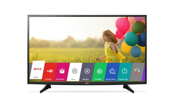 LG 43LJ594V 43&quot Full HD Smart LED TV (1000Hz PMI,Beépített Wi-Fi,webOS 3.5)