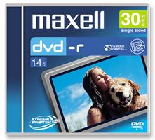 Maxell DVD-R 8CM mini-dvd 1.4gB 30min