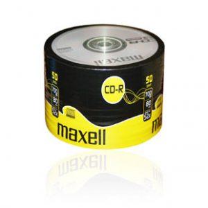 Maxell CD-R 700mb 50db-os hengeres kivitel