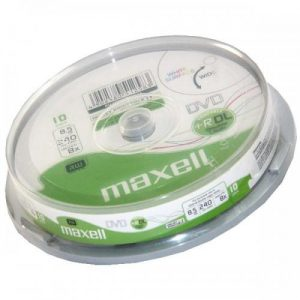 Maxell DVD+R Dual Layer 8,5GB (dupla rétegű)