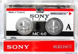 Sony Microcassette MC-60  (2x30 perc)