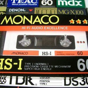 MONACO HS-I 60 type I  compact cassette