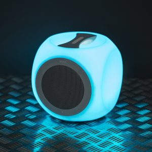 Chill Cube multicolor bluetooth speaker