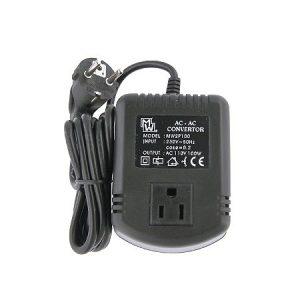 230V/110V AC 100W EU/USA/JAPÁN adapter MW 2P100