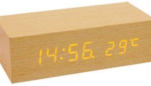 HOME OC 02 fa óra, és hőmérséklet kijelzés