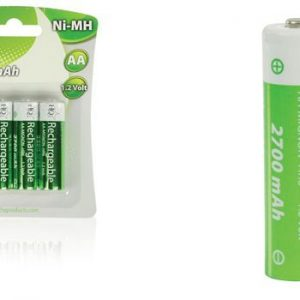 HQ 2700mAh, Ni-MH, 1375.-Ft/db