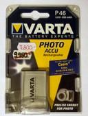 Varta V46 Photo akku Casio fényképezőgéphez 3.6V 630mAh Li-ion