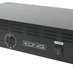 König PA-AMP6000-KN PA erősítő 2x300W