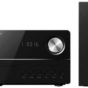Pioneer X-EM16 Mikro Hifirendszer, CD lejátszó, FM rádió, USB, 2x15W, Fekete