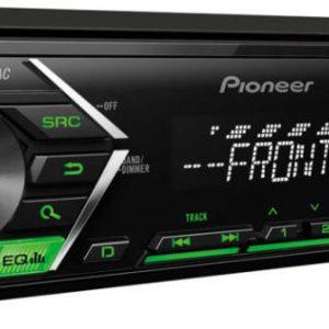Pioneer  MVH-S100  (zöld, piros, fehér, borostyán))