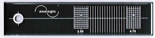 ANALOGIS hangkar-hangszedő beállító sablon