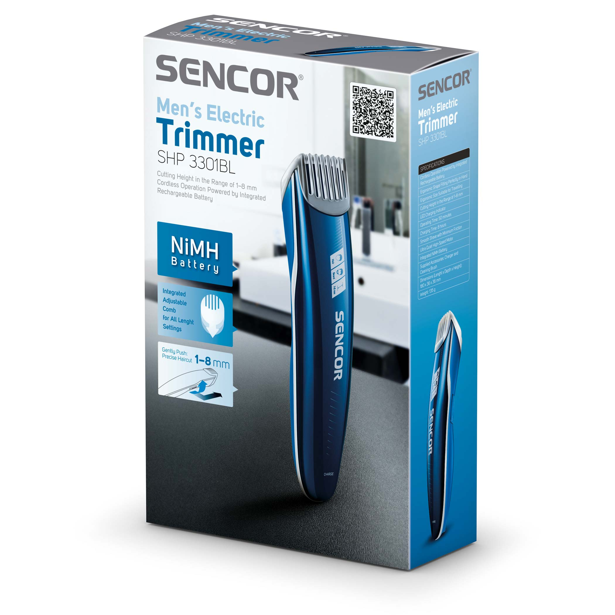 Sencor SHP 3301BL hajnyíró - Műszaki Pince f724a0fb98