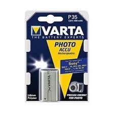 Varta P35 Photo akku Sony fényképezőgéphez 3.6V 600mAh Lithium Polymer