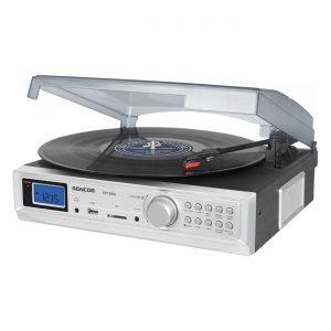 SENCOR STT210U lemezjátszó/USB/rádió
