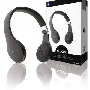 Sweex zárt sztereó fejhallgató Bluetooth (fehér vagy fekete)