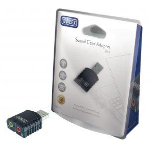 sweex SC010v2 USB hangkártya adapter