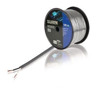 sweex 2x1,5mm2 szuper hajlékony professzionális hangszóró kábel