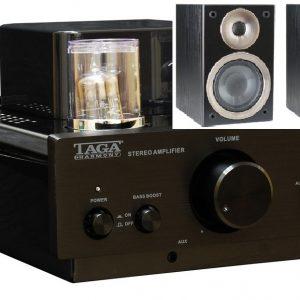 TAGA HTA-500B csöves erősítő + Azure S-40 hangfal