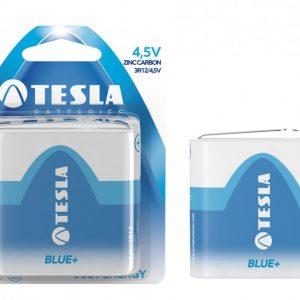 TESLA BLUE+ 4.5V lapos elem