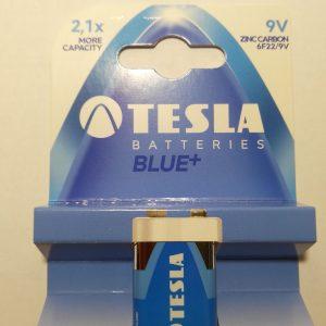 TESLA BLUE+ 9V elem