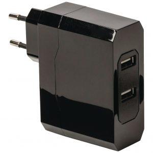 KÖNIG 2x5V/2x2.4A USB tápegység