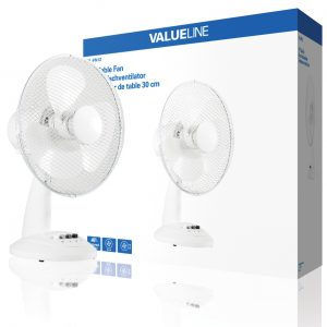 VALUELINE 30 cm lapátátmérőjű asztali HOLLAND ventilátor